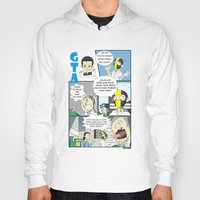 gta Hoodies featuring GTA - Comic strip by Azlee Mahat