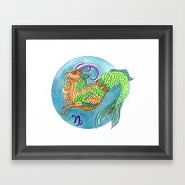 Capicorn Framed Art Print