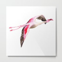 Flamingo #4 Metal Print