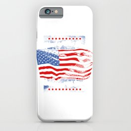 Veteran Land Of The Free Gift for a patriot iPhone Case