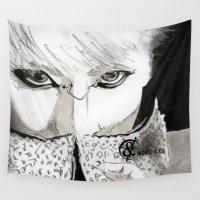 kpop Wall Tapestries featuring SHINee's Jonghyun by Worldandco