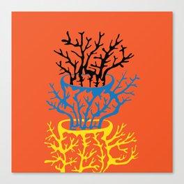 matisse coral Canvas Print