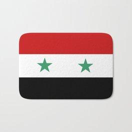 Syria country flag Bath Mat