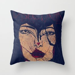 Insect Ark live aus Berlin Throw Pillow