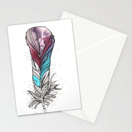 Monsoon Feather Stationery Cards