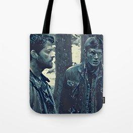 Angel & Hunter Tote Bag