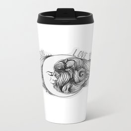 Live by the Sun, Love by the Moon Metal Travel Mug