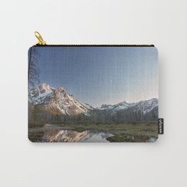 Reflections in Stanley, Idaho Carry-All Pouch