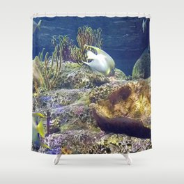 Something Fishie Shower Curtain
