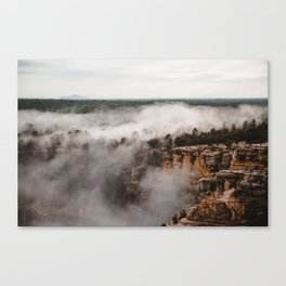 Fog Takeover Canvas Print