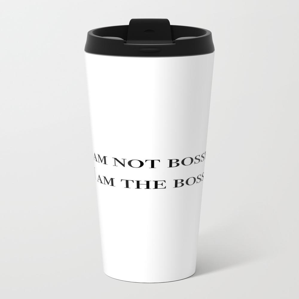 I Am The Boss Travel Mug TRM8751700