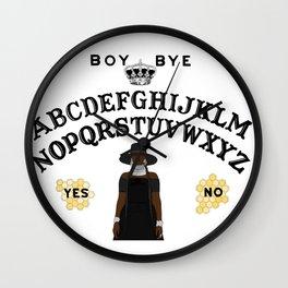 Queen Bey Ouija Board Wall Clock