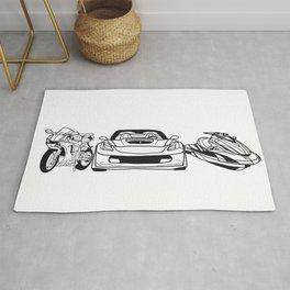 Motor Sport Rug
