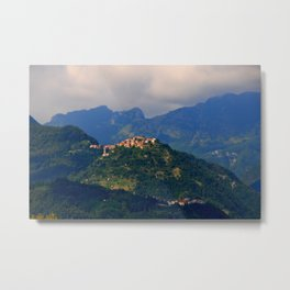 View on Trassilico Metal Print