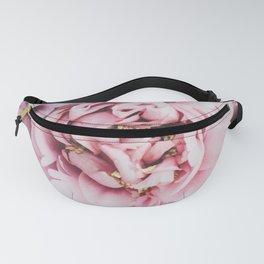Pink Blush Peonies Fanny Pack