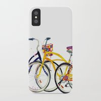 bikes iPhone & iPod Cases featuring bikes by takmaj