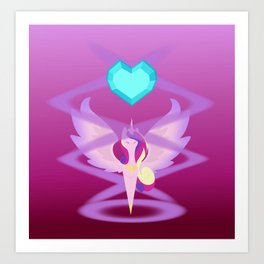 Magic Circle: Princess Cadence Art Print