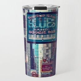 Historic Printer's Alley Nashville Tennessee Travel Mug