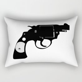 Detectives Revolver Rectangular Pillow