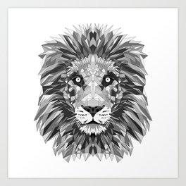 Black and White Cecil Art Print
