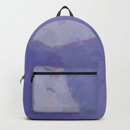 periwinkle watercolor Backpack