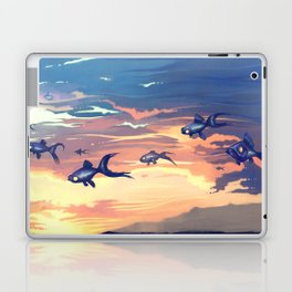 Sky Fishes Laptop & iPad Skin