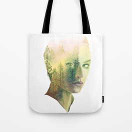 The Girl Who Knew No Trees Tote Bag