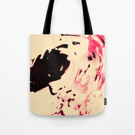 Peaches and Cream Wave for the Lovers Tote Bag
