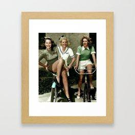 40's Chic Framed Art Print
