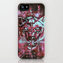 Panther Style. iPhone Case