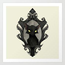 The Cats of Ulthar Art Print