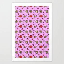 Garden Friends Art Print