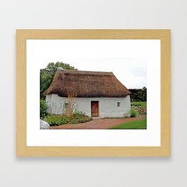 Nant Wallter Cottage. Wales. Framed Art Print