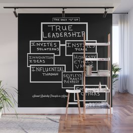Motivating Others on True Leadership Wall Mural