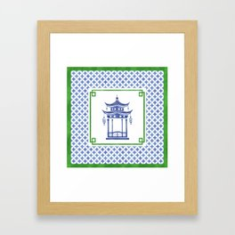 Chinoiserie - Le Pavillon 1 Framed Art Print