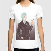bleach T-shirts featuring Bleach: Grimmjow by Mattie