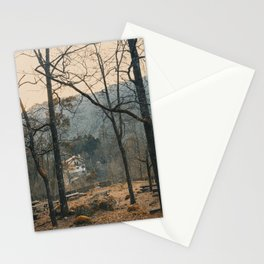 Mountain road. Peneda - Geres National Park, Portugal. Stationery Cards