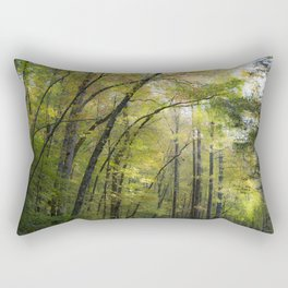 Trees in October Rectangular Pillow