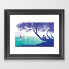 Ferragosto Framed Art Print