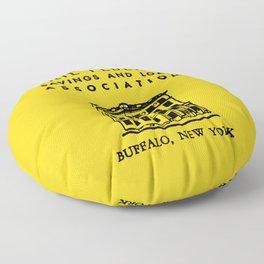 Erie Federal Savings & Loan Floor Pillow