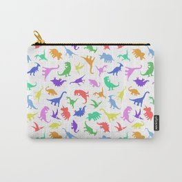 Fun Dinosaur Pattern Carry-All Pouch