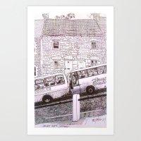 One way Traffic Art Print