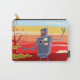 Monster VS Robot Carry-All Pouch