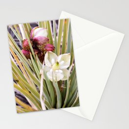 Yucca Flowers in Bloom Stationery Cards
