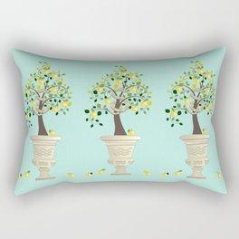 Guarding Golden Apples Rectangular Pillow