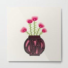 Floral vibes IX Metal Print