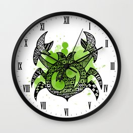 Zodiac Zentangle - Cancer Wall Clock