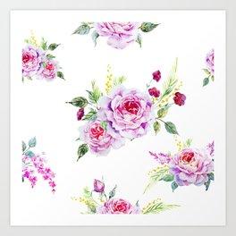 Spring Bouquet II Art Print