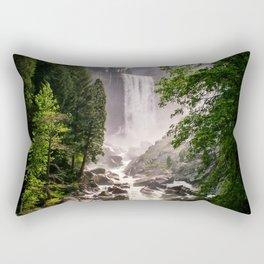 Yosemite Waterfall Rectangular Pillow