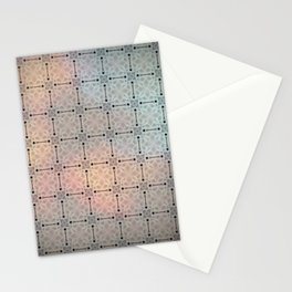 Flowered twilight Stationery Cards